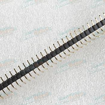 1x40 Pin 2.54mm 90 Derece Erkek Pin Header