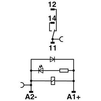 Röle Modülü - RIF-0-RPT-12DC/21