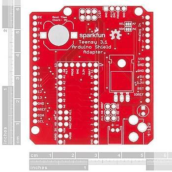 Teensy Arduino Shield Dönüþtürücü