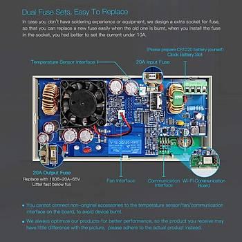 RD6012-W DC Güç Kaynaðý 60V 12A Wi-Fi Baðlantý