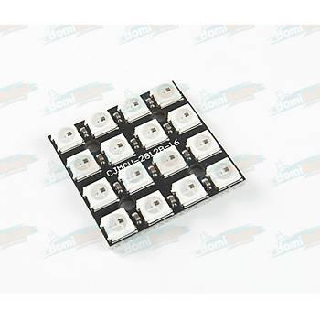 WS2812B 4x4 RGB LED  Modül (30x30mm)