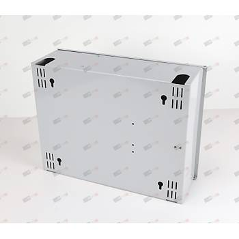 Duvar tipi Terminasyon Kutusu 96port - Metal - Modüler Yuvalý