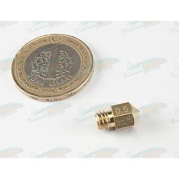 MK8 Nozzle (1.75mm Filament +0.5mm Extruder Print Head)