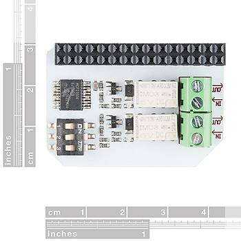 Onion Omega Relay Expansion Board