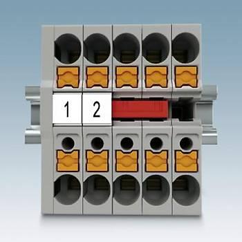 Mini toprak terminali bloðu - MPT 2,5-PE