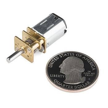 SparkFun Micro Gearmotor - 270 RPM (6-12V)