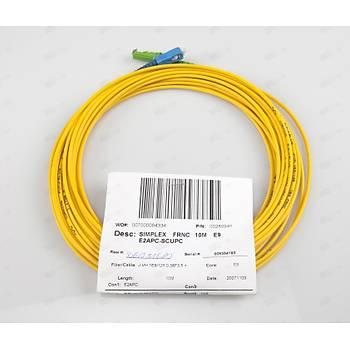 SC-E2000/APC SM G652D Simplex F/O Patchcord L:10m