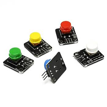 Arduino 5 Renk Buton Modülü