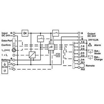 QUINT Kesintisiz güç kaynaðý -DIN ray adaptörlü