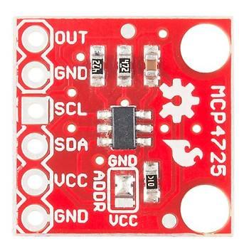 SparkFun I2C DAC Breakout  Orjinal - MCP4725