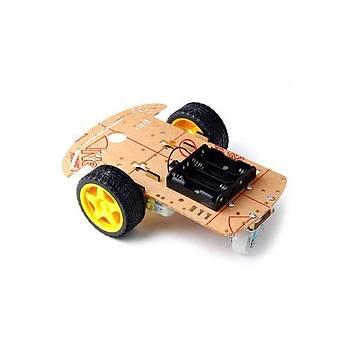 2WD Robot Araba Kiti