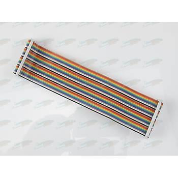 Raspberry Pi 3/2/B+/A+ 40pin GPIO Çoklu Kablo (Ribbon)