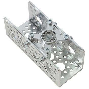 "Actobotics Bearing Mount - Flat (3/8"" Bore)"