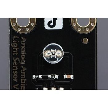 DFRobot Gravity: Analog Ortam Iþýk Sensörü - Arduino Uyumlu
