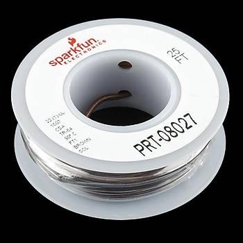 SparkFun Tek Damar Montaj Kablosu 7,5m(25ft) -22AWG Kahverengi