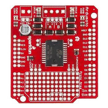 SparkFun Ardumoto Shield Kit - II