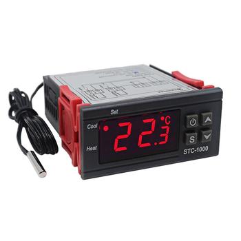 STC-1000 AC 110-220V 10A LCD Ekranlý Sýcaklýk Kontrol Modül