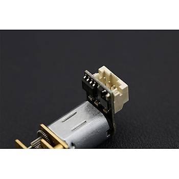 DFRobot Gravity: Mikro Metal Diþli DC Motor 75:1