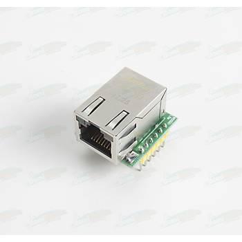SPI dan Ethernet/TCP/IP Dönüþtürücü - W5500 USR-ES1