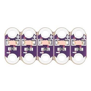 LilyPad LED Pembe (5 adet)