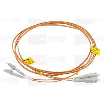 SC-LC MM 62,5/125 Duplex F/O Patchcord L:1m