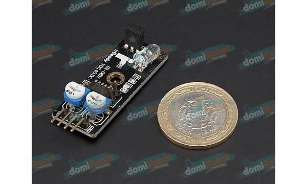 38 kHz IR Alýcý Verici Tekli Sensör Kartý