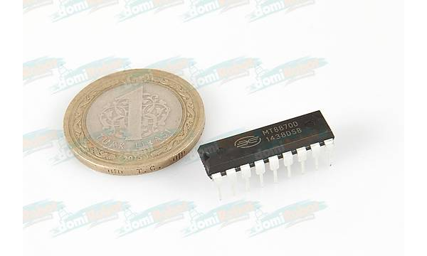MT8870D - ISO2-CMOS Integrated DTMF Receiver