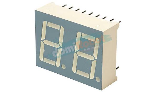 14.2mm KIRMIZI 2-Digit LED Display (Anot)