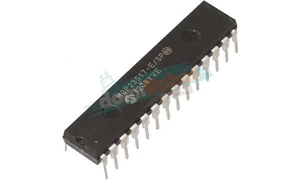 MCP23S17 E/SP 16-Bit I/O Expander with serial interface
