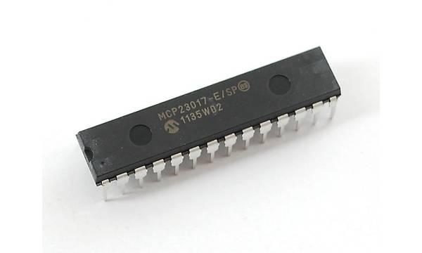 MCP23017 E/SP 16-Bit I/O Expander with serial interface