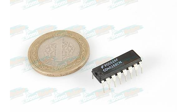 CD4015BC - Dual 4Bit Static Shift Regsiter