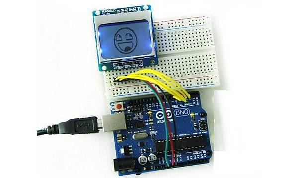 Nokia 5110 84x48 LCD Modül Mavi Arkaýþýk