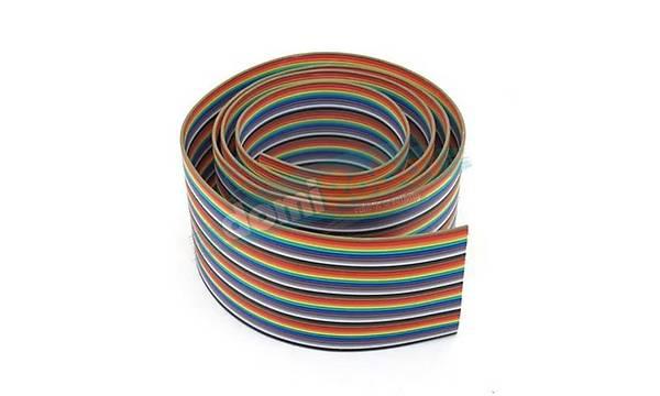 40Pin Renkli Ribbon Jumper Kablosu (Awg24)