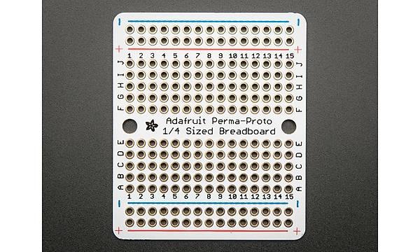 Perma Proto 1/4 Çeyrek Ebat PCB Breadboard PCB - Tekli