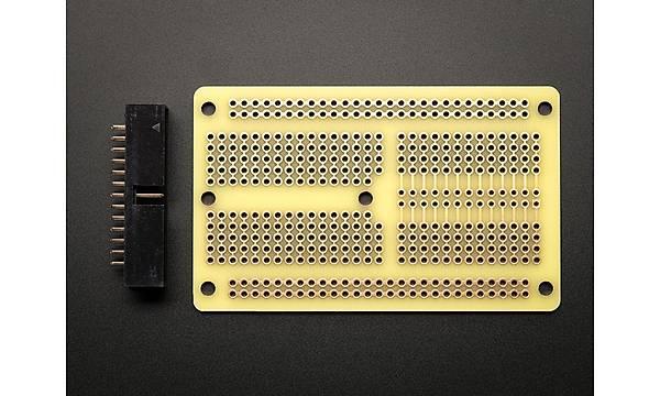Perma-Proto 1/2 Yarým Boy Raspberry Pi PCB Breadboard Kit