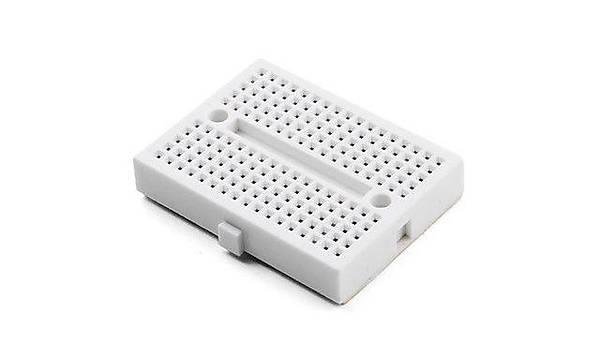 Mini Breadboard 170Point - Beyaz (Yapýþkanlý)
