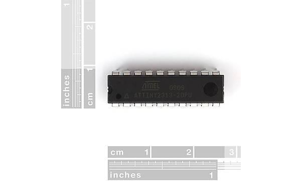 AVR 20 Pin 20MHz 2K - ATtiny2313V -10PU
