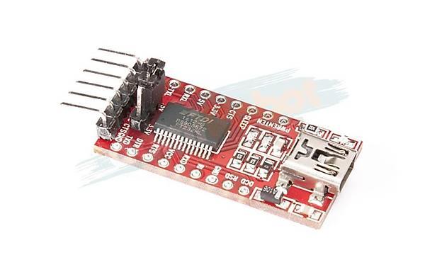 FTDI Programlama Kartý (3.3V - 5V Seçilebilir)
