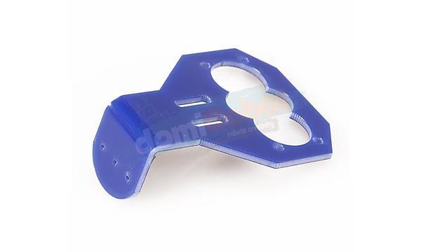 Mavi Akrilik HC-SR04 Ultrasonik Sensör Tutucu