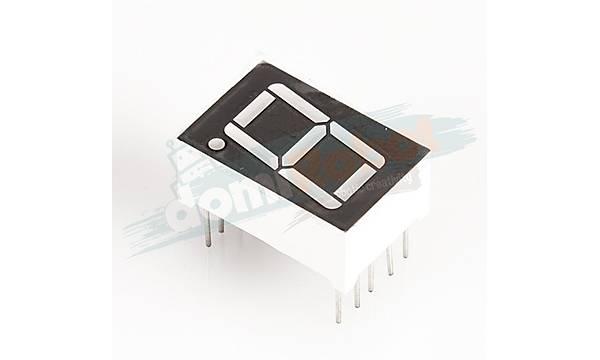 14.2mm (0.56 inc) 7 Segment KIRMIZI LED Display