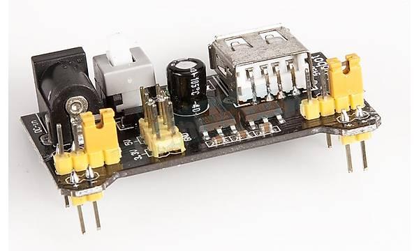 MB102 Breadboard + Güç Kartý + 140Parça Jumper Teli Seti