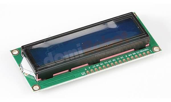 16x2 IIC/I2C Seri Mavi LCD Ekran - LCD1602