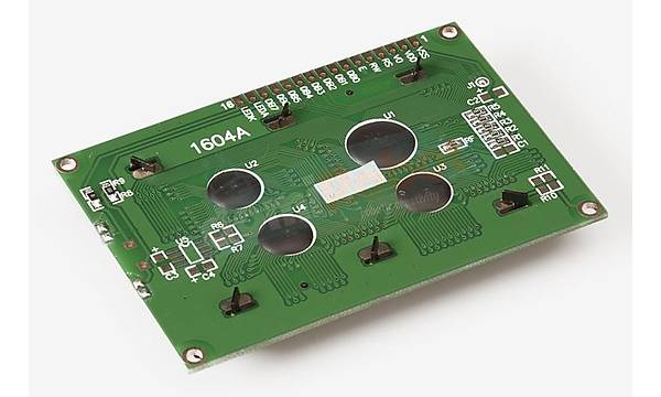 16x4 LCD Mavi Ekran