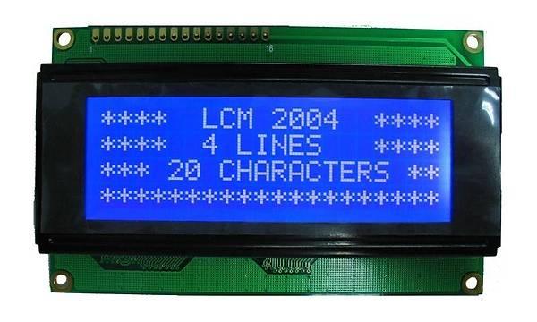 20x04 (2004) LCD Mavi Ekran