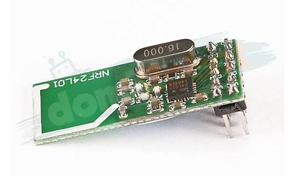 NRF24L01+ 2.4GHz Wireless Alýcý Verici Modül (Data Ýletiþim)