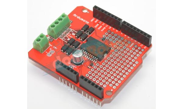 ArduMoto Motor Sürücü Arduino Shield