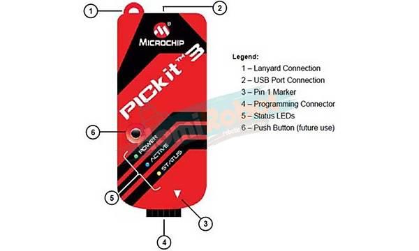 PICKit3 Microchip PIC Programlayýcý