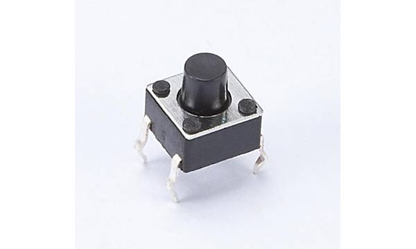 4 Pin Mini Push-Buton (Tuþ Yüksekliði 3mm)