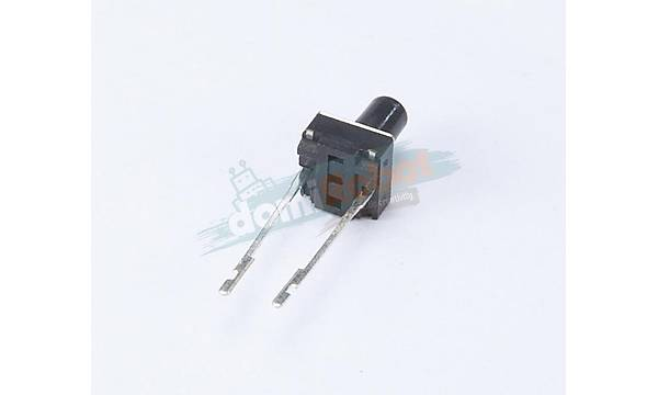2 Pin Mini Push-Buton (Tuþ Yüksekliði 6mm)