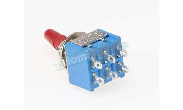 6Pin Toggle Switch On/Off (MTS-202)